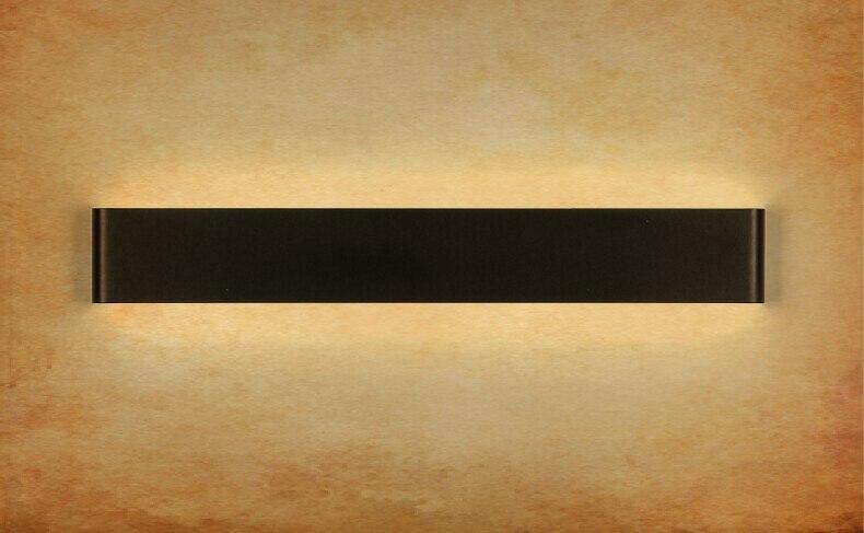 Современные 14 см-58 см длинные Алюминий светодиодный Настенные светильники для гостиной для ванной как украшение бра свет 90-260 В lamparas де сравнению