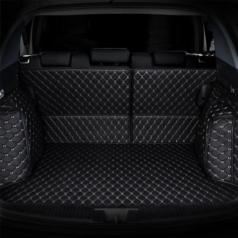 Car Trunk Mat cargo mat for Toyota avensis Land Cruiser 200 150 Prado Toyota Verso EZ Reiz Mark X Crown yaris L Prius