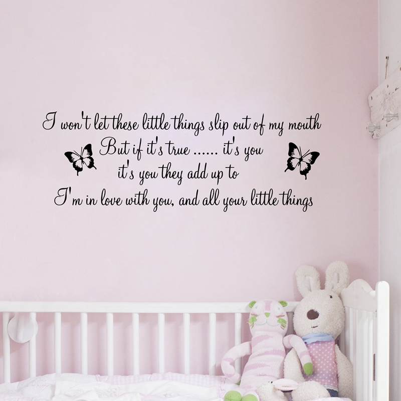 Mad World Ed Sheeran Give Me Love Song Lyric Wall Art Sticker Wall