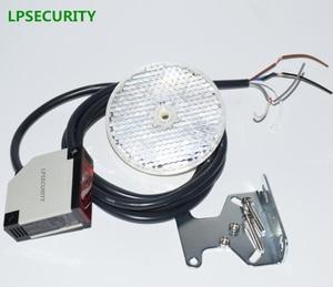 Image 2 - LPSECURITY 4 meters detectie gate veiligheid fotocel/retro reflecterende optische sensor/garagedeur bescherming