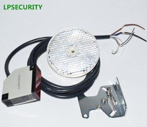 Image 2 - Lpsafety фотоэлемент с датчиком на 4 метра, светоотражающий фотоэлектрический датчик, защита дверей гаража