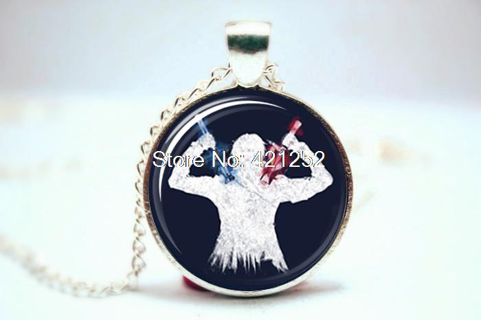 10pcs/lot Sword Art Online Inspired Necklace  Glass Photo Cabochon Necklace