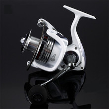 White 14BB Spinning Fishing Reel HC2000 5000 HC7000 7000 Full Metal handle Body Carp Fishing Reel