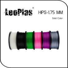 Быстрая доставка по всему миру прямого производителя 3D-принтеры Материал 1 кг 2.2lb одноцветное Цвет 1.75 мм БЕДРА Нити