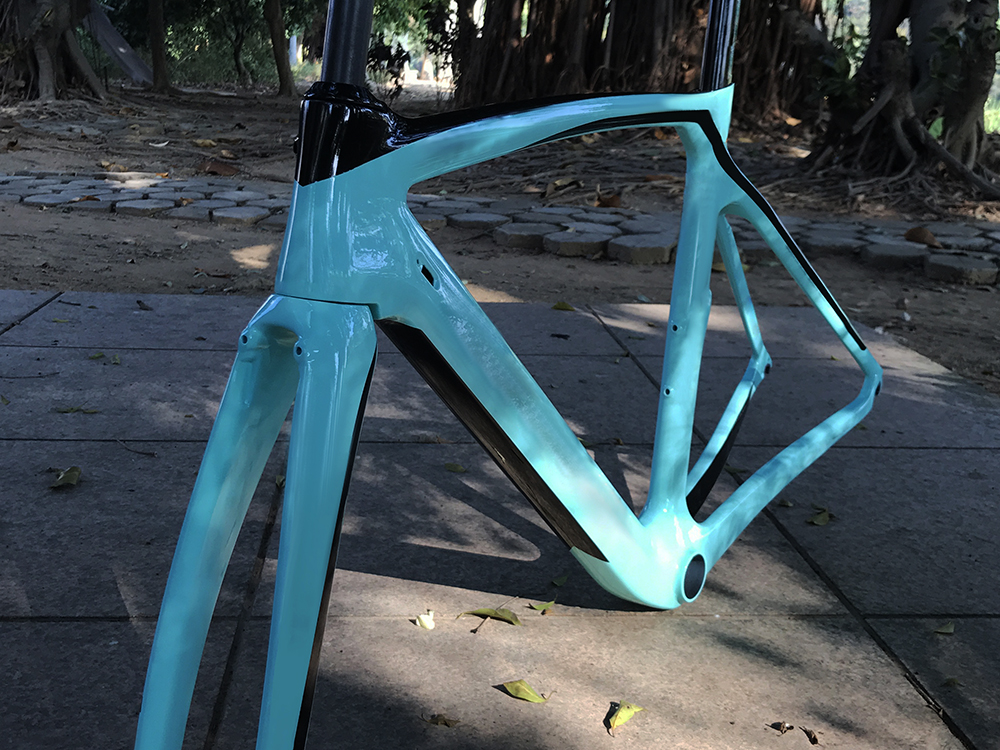 XR4 carbon fiber road bike frame Aero road bicycle frame fork seatpost UD weave 50 53 55 57 DPD XDB free tax 6 color top