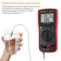 AN881B+ true rms digital multimeter tester transistor testers manual high precision digitals multimeter tester ac dc multi meter