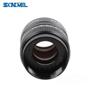 Image 3 - Fujian 3in1 Lente CCTV 25mm f1.4 Lens/35mm f1.7 Lens/50mm f1.4 Kit de Montagem da lente Anel para Olympus Panasonic Micro 4/3 M4/3 M 4/3