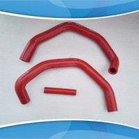 for Range Rover L322 4.4 BMW M62 Silcone Crankcase Breather Pipes only red