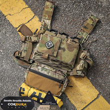 Emerson Chest Rig Micro Fight MK3 Modular Lightweight with 5.56 Mag Pouch SACK