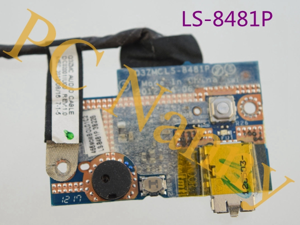 Genuine For Acer Ultrabook S5-391 Audio Board & Cable LS-8481P DC02001IU00