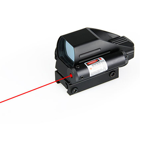 PPT Tactical 1X22X33 Red And Green Reflex Sight With Red Laser Sight HS2-0071