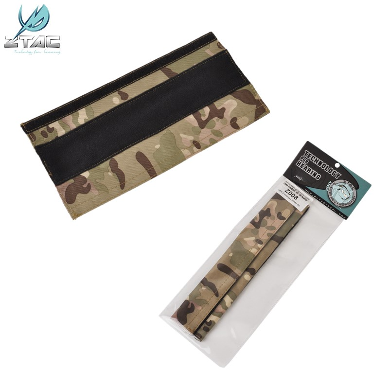 Camo Replacement CP Nylon Plastic Headband For Tactical Headphones Z008