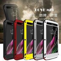 Miłość Mei przypadku Dla lg klasy h740 wodoodporna, Odporna Na Wstrząsy metal objąć przypadki dla lg klasy h740 Szkło Hartowane telefon case