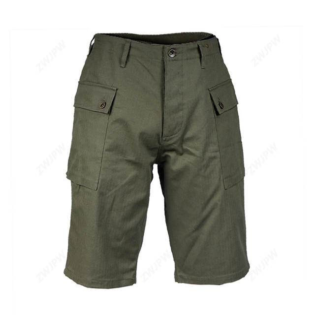 US $39 99 |WW2 Vietnam war U S  P44 short pants paratrooper uniform war  reenactments-in Breeches from Sports & Entertainment on Aliexpress com |