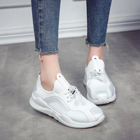 Women Casual Shoes Sneakers Summer Breathable Lace Up Ladies Flat Comfort Walking Shoes Ladies Fashion Footwear