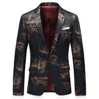 Men's Formal Wear Wedding dress Slim Suit Jackets Blazers Men Single Breasted Casual Blazers