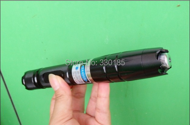 AAA Shoot bird high powered 5w 5000mw 450nm blue laser pointers focusable burning torch Burning cigarettes+5 caps+charger+box