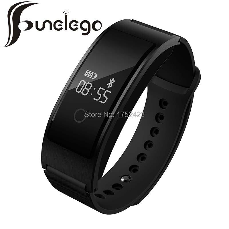 Funelego New font b Smart b font Band Blood Pressure Bracelet Sport Activity Monitor Bluetooth For
