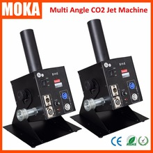2Pcs/Lot  New Arrival CO2 Cryo Canon Jet Machine With 6 Meters Hose Night Club DJ CANNON Stage Effect Machine
