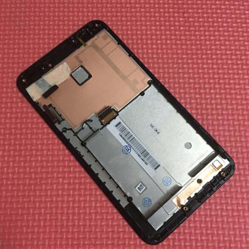 Cadre de haute qualité + lcd affichage écran tactile numériseur pour Asus Fonepad Note 6 FHD6 ME560CG ME560 mobile de remplacement