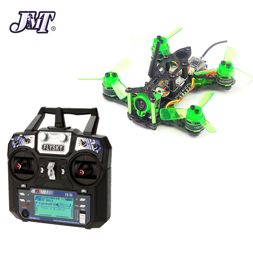 JMT Mantis 85 RTF Micro FPV Racing Drone With Flysky FS-i6 6CH 2.4G AFHDS 2A LCD Transmitter Radio System for RC Drone jr for futaba metal support holder for transmitter radio system for rc camera drone accessories