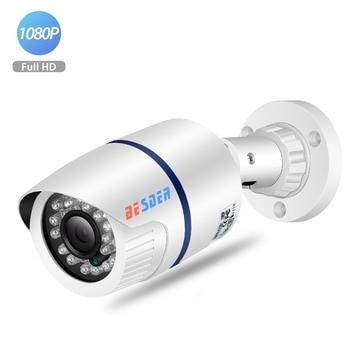 BESDER 1080p/720p Full HD IP Camera Wide angle H.264 Outdoor Waterproof Home Security Camera CCTV Camera Email Alert P2P XMEye Surveillance Cameras