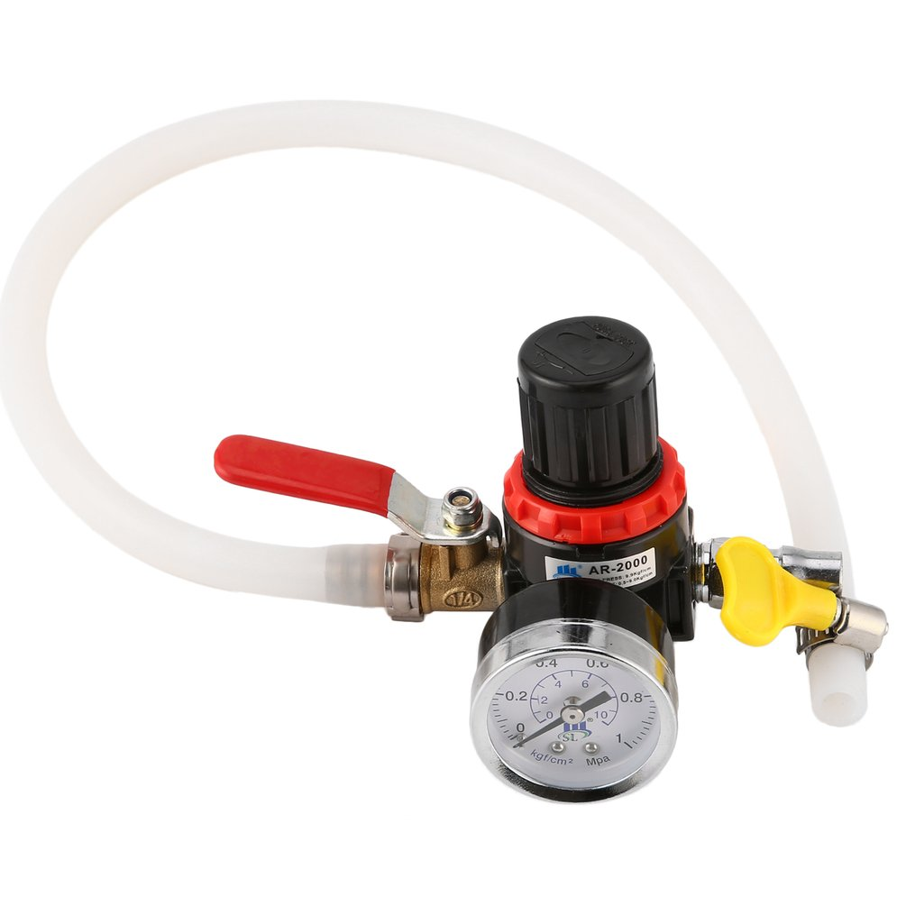 Automotive Cooling System Tester Radiator Leak Pressure Tester Car Truck Water Tank Detector Durable Checker Tool