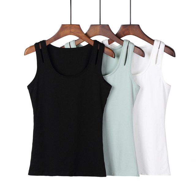 New 2017 Summer T shirt Women Tank Top Sleeveless O-neck Fashion Cotton Topic Female T-shirt Tees 3 Colors Camisetas Mujer