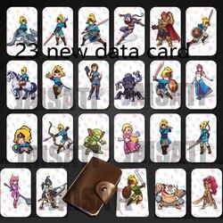 , 23 NTAG215 Zelda Thẻ NFC 20 Trái Tim Sói Revali Mipha Daruk Urbosa Cho amiibo Game Truyền Thuyết của Hơi Thở của hoang dã NS Công Tắc