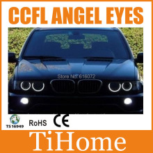 Envío Libre X5 CCFL ANGEL EYES, NO PROYECTOR HALO RING, KIT PARA BMW E53 X5 CCFL ANGELEYES
