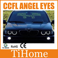 Free transporte x5 ccfl angel eyes, NÃO PROJETOR de HALO RING, KIT PARA BMW X5 E53 CCFL ANGELEYES