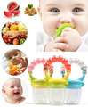 3 Size Quality Baby Bite Pacifier Feeding Kids Food Feeder Soother Nipples Soft Feeding Tool Bite Gags Safe Baby Bottles 3 Size
