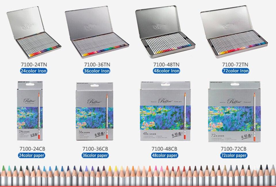 っMarco raffine lápices 48 72 Unidades para colorear libros artista ...