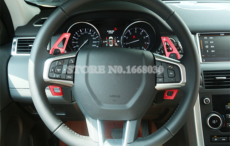 Inner Steering Wheel Paddle Shifters 2pcs For Land Rover Range Rover & Discovery