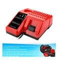 Высокое качество 12В-18В зарядное устройство для Milwaukee литий-ионная батарея M18 C18C C1418C 48-11-1820 48-11-1815 48-11-1840 EU/UK вилка