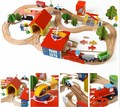 Train Wooden Complete Set Of my cute little cars Toy Engine Early childhood educational toys poni Toys colorful building blocks
