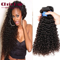 Brazilian Curly Wave Virgin Human Hair Miss Lula hair deep Curly Weave Weft Natural Black Color 3 PC/Lot   Aliexpress  uk