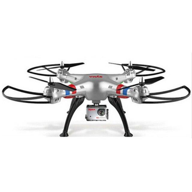 SYMA X8G X8C X8W Drone 2.4G 4ch 6-Axis RC Helicopter With FPV Wide Angle Headless 5MP Camera Professional CAM Quadcopter Toys