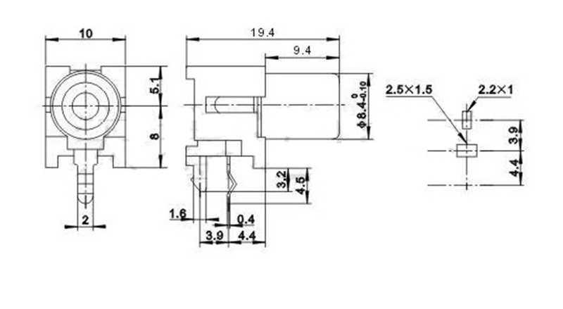av-8 4-5 gold plating rca socket 90 degree welding pcb for dac decoder