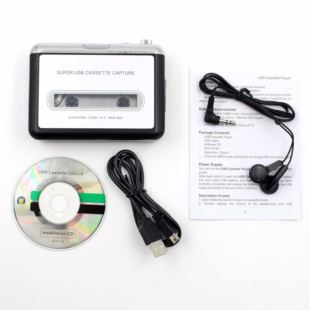 Usb Kabel Kopfhörer Cd Bescheiden Leshp Band Kassette Konvertieren Zu Mp3 Player Konverter Zu Usb Audio Captuer Walkman Musik-player