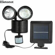 Best Price New 22 LED PIR Motion Sensor Solar Power Wall Street Light Light Garden Security Lamp Outdoor Street Waterproof Wall Lights