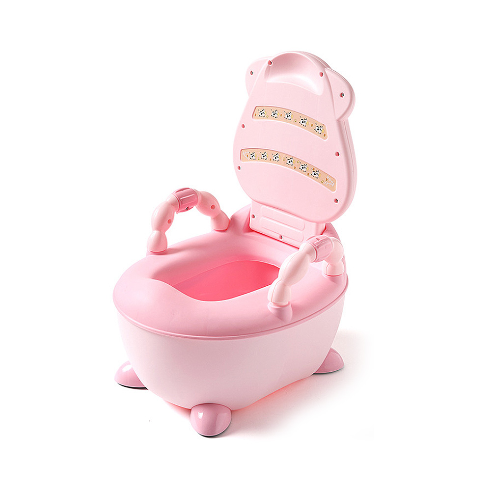 Baby Potty Toilet Bow Kids Bedpan Portable Urinal Comfortable Backrest Cartoonl Training Pan Toilet seat Children's Pot New