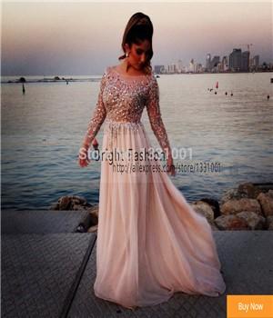 Vestidos-Longo-Plus-Size-Long-Sleeve-Elie-Saab-Evening-Dress-Long-Prom-Dresses-For-Pregnant-Women