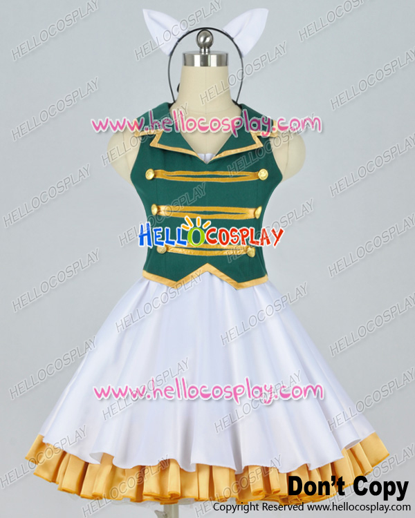 Vocaloid Ah It's A Wonderful Cat Life Aa Cosplay Subarashiki Nyan Gumi Outfit Costume H008