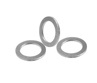 Wkooa 12 x 18 x 1.5 Aluminum Flat  washer gasket spacer 500 pieces
