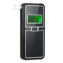 AT8000 Digital Portable High Precision Alcohol Breath Tester Breathalyzer with 5pcs Transparent Mouthpieces