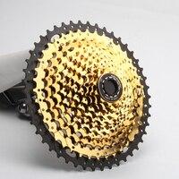 Т 11 скоростная кассета 11-т 46 T 11-т 50 t 11-52 T CYSKY MTB кассета 11 скоростная для горного велосипеда MTB BMX SRAM Shimano Sunrace