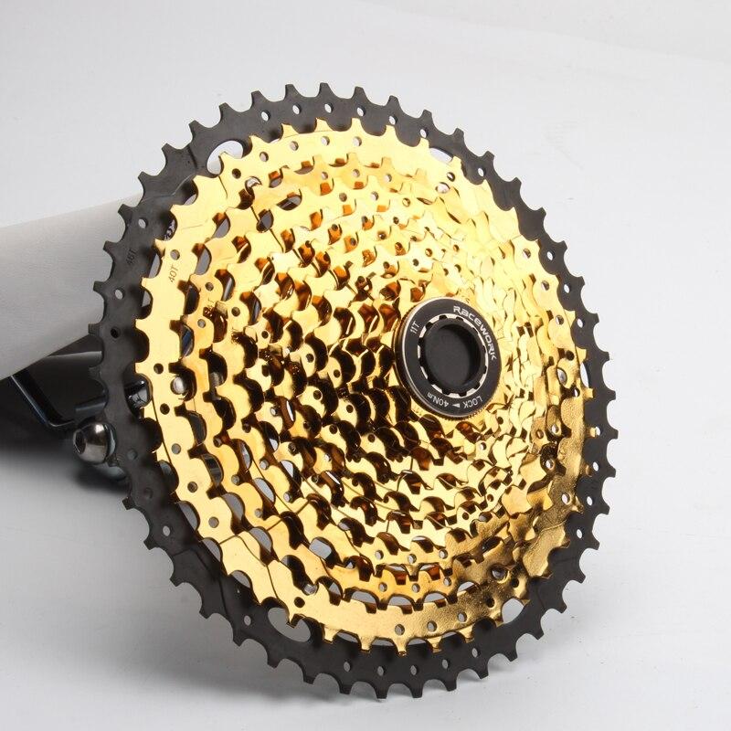 Cassete velocidade 11 11-46T 11-50T 11 11-52T CYSKY MTB Cassete Velocidade para Mountain Bike MTB BMX Shimano SRAM Sunrace