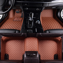 лучшая цена XWSN custom car floor mat for chevrolet captive 2012-2017 epica sonic aveo sail trax lacetti cruze Auto accessories car mats