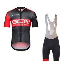 2017 new pro team GCN summer mens Cycling jerseys breathable bike clothing MTB Ropa Ciclismo Bicycle maillot(China)